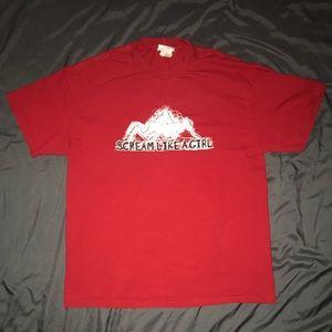 💝SOLD‼️ Red Disney men's shirt